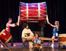Drummers at Asian Culture Festival
