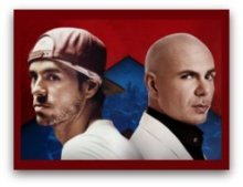 Enrique Iglesias y Pitbull in Miami