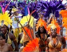 Miami Broward Carnival costumes