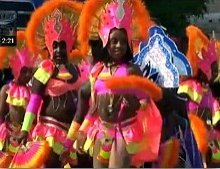 Parade at Miami Broward Junior Carnival