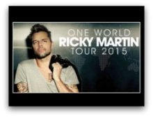 Ricky Martin in South Florida