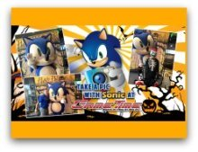 Halloween at the Shops of Sunset Place with Sonic the Hedgehog
