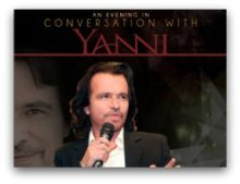 An evening in conversation with Yanni in South Florida
