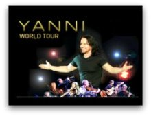 Yanni World Tour in South Florida