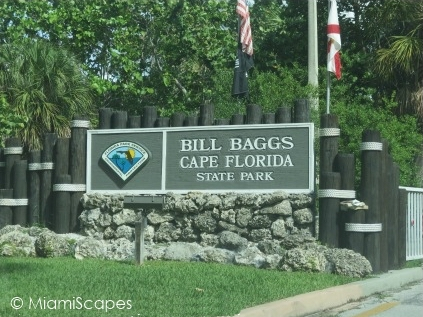 Bill Baggs State Park Entrance