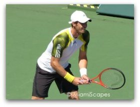 Sony Open 2013 Andy Murray meets Marin Cilic in the Quarter Finals