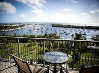Bay views from balcony at The Mutiny