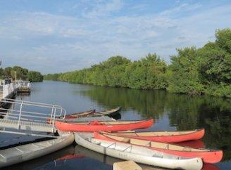 Marina at Flamingo: Canoe and Kayak Rentals