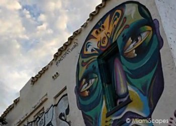 Mural at Wynwood Art District in Miami
