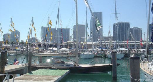 Miami Boat Show in February