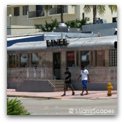 Miami Art Deco Diner