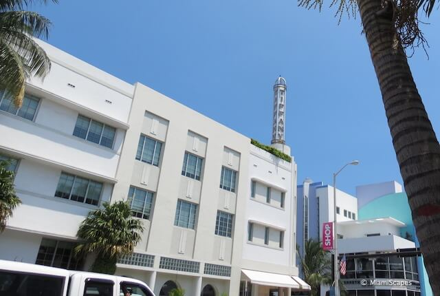 Miami Art Deco District The Hotel of South Beach