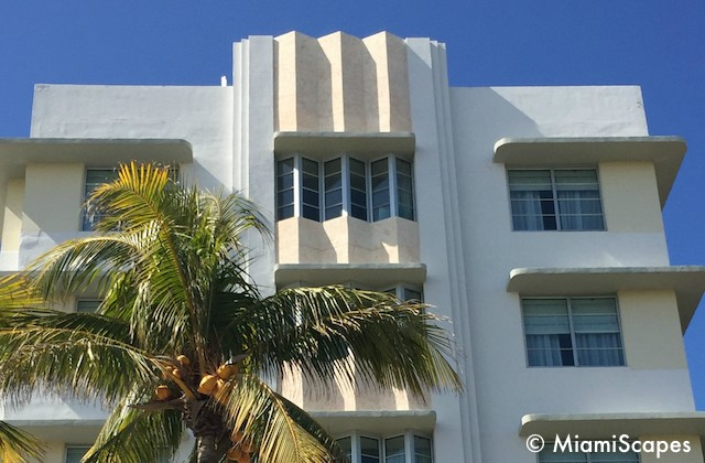 Miami Art Deco eyebrows at the Winterhaven