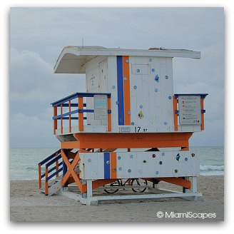 Art Deco Lifeguard Tower at 17th Street