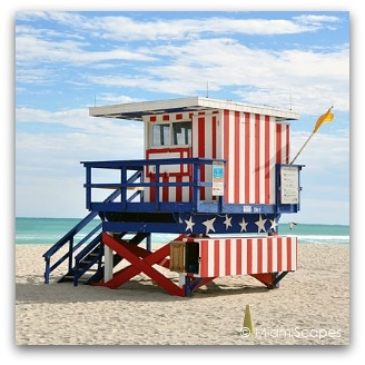 Lifeguard Tower at 13th Street