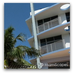 Miami Art Deco Nautical Motif