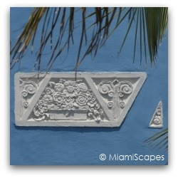 Miami Art Deco Relief Decor