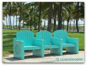 South Beach Park Benches Chairs