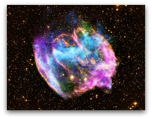 Supernova Remnant W49B NASA, Chandra