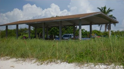 Picnic Tables and Pavillions at Bahia Honda