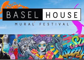 Basel House Mural Festival at RC Cola Plant Wynwood