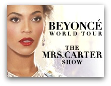 Beyonce in concert in Miami