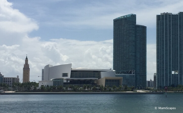 From Biscayne Bay Cruise:  AmericanAirlines Arena