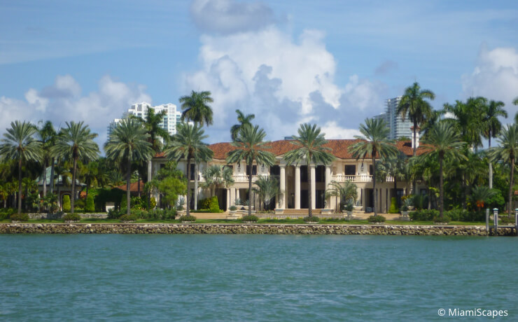 From Biscayne Bay Cruise: Millionaires Row