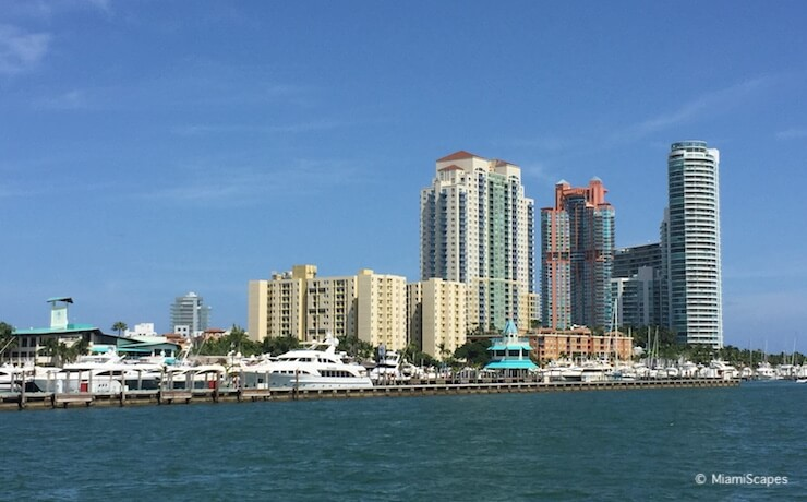 Biscayne Bay Cruise views of South Beach