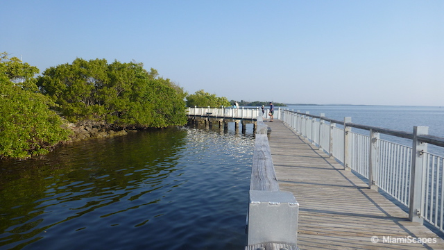 Boardwalks at Biscayne National Park Visitor Center