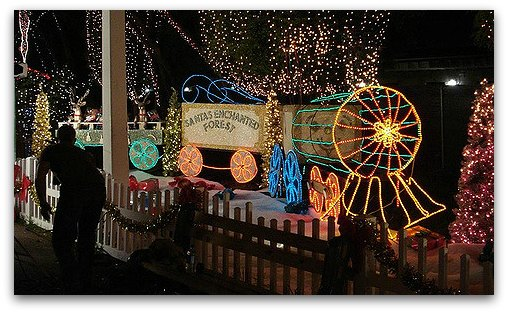 Christmas in Miami: Fun for Kids and Families at Santas Enchanted Forest
