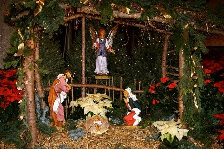 Christmas Mass Nativity Scene