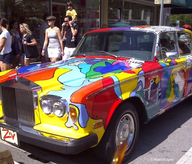 Coconut Grove Art Festival: Car Art
