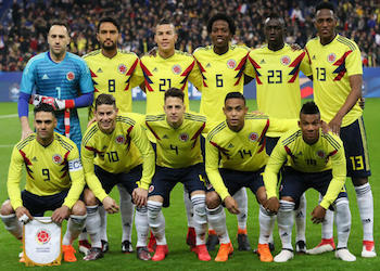 Colombia Soccer National Team