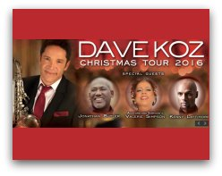 Dave Koz Chritmas concert in Miami