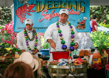 Seafood Feast at the Deering Seafood Fest