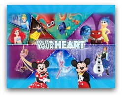 Disney On Ice  Follow Your Heart  in Miami
