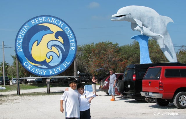 Entrance at the Dolphin Research Center