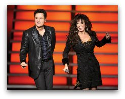 Donny and Marie in Miami