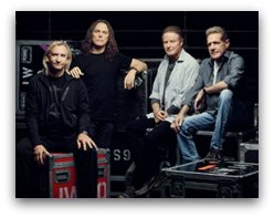 The Eagles in concert in Miami