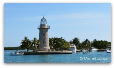 The lighthouse at Boca Chita Key, Biscayne National Park