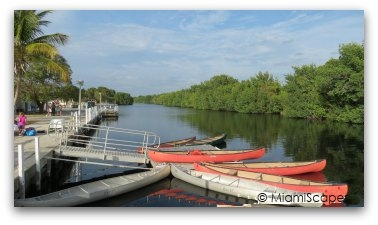 Marina and Canoe Rentals at Flamingo