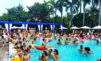 Pool Party at the Shore Club