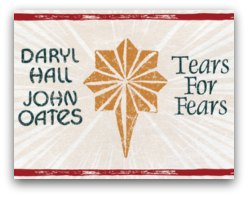 Hall and Oates and Tears for Fearsin Miami