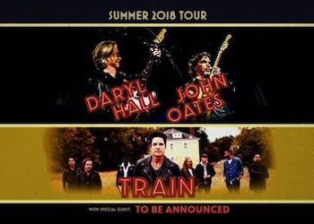 Hall and Oates and Train Tour