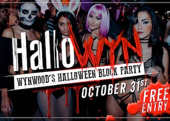 Wynwood Halloween Block Party