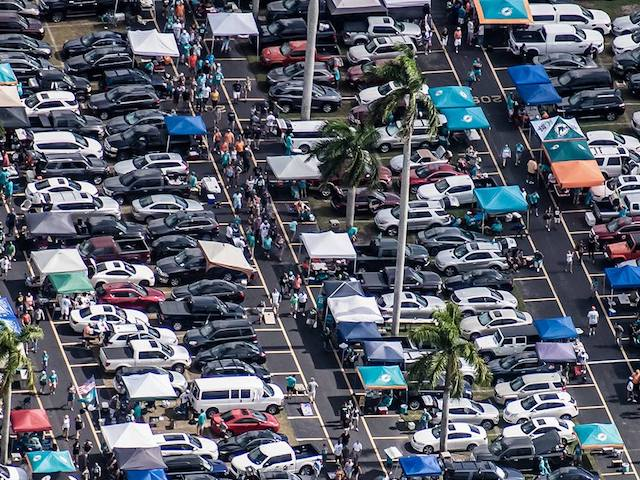 Hard Rock Stadium Parking Lots