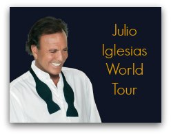Julio Iglesias In South Florida in March 2017