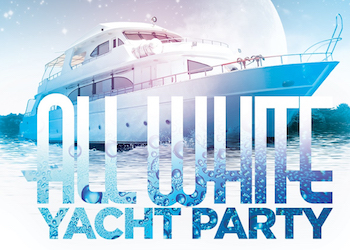 Labor Day All White Yacht Party Cruise