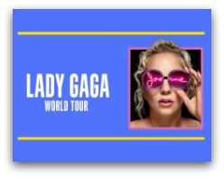 Lady Gaga Joanne World Tour in Miami